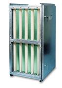 FCBS-HF filtri korpus on loodud kuni 400 mm sügavusega HF filtritele.  Tüüpilised Camfil Farri HF filtrid on kott-filtrid ( Hi-Cap, H-Flo, S-Flo) ja kompaktfiltrid (Opakfil, Citycarb, Citysorb).