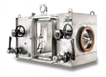 """Camfil Farri CamContain C korpused """"kott sisse/kott välja"""" tehnoloogiaga on kasutusel, et eraldada radioaktiivseid, toksilisi või bakteriaalseid osakesi ja gaase, et tagada suurim võimalik ohutus."""