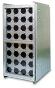Modulaarne FCBS-CC filtri korpus on loodud CamCarb ja Camcarb Green süsinikfiltrite jaoks (tüüp 2600 ja 3500).
